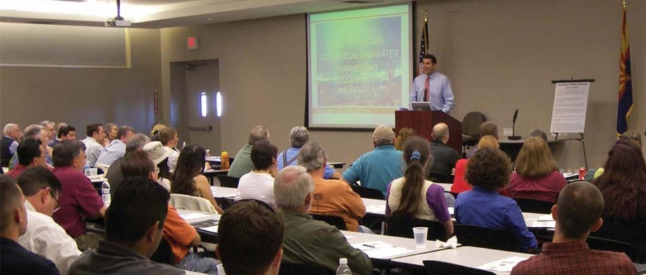 City of Tucson Rainwater Harvesting Seminars