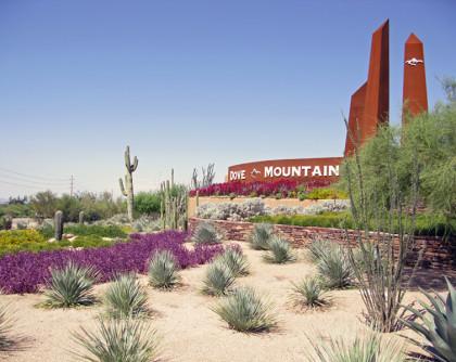 Dove Mountain Boulevard Streetscape