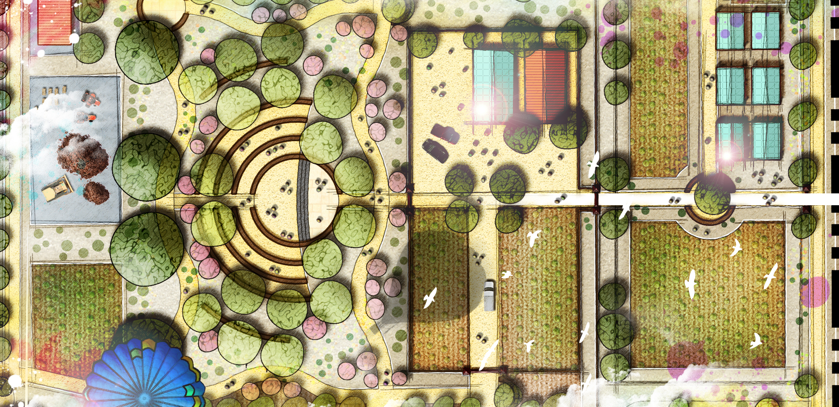 portfolio categories landscape architecture