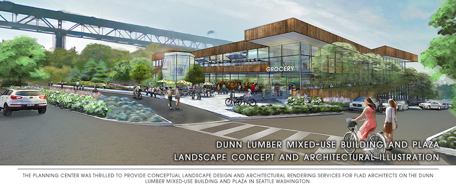 Dunn Lumber Mixed Use Building and Plaza
