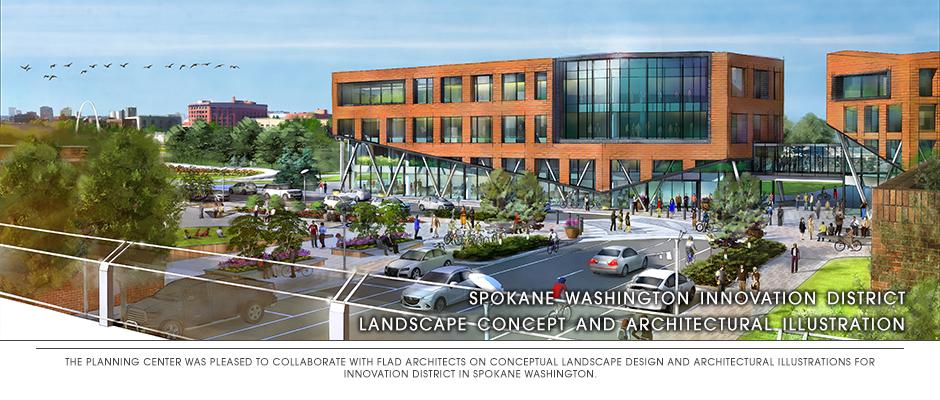 Innovation District – Spokane, WA